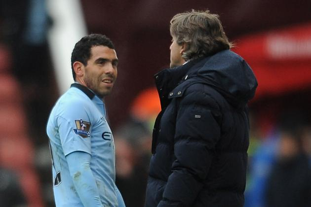 'We Need Our Strikers to Score More' --Manchester City Boss Mancini