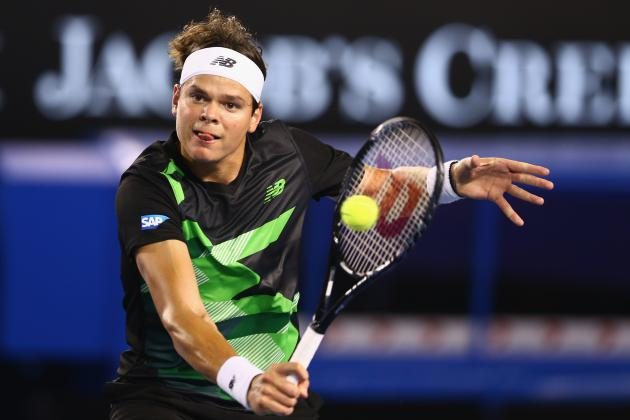 SAP Open 2013: Tommy Haas Doesn't Stand a Chance vs. Milos Raonic