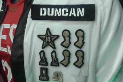 Duncan's Special All-Star Warmups
