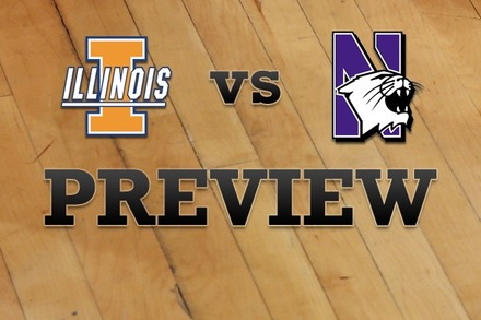Illinois vs. Northwestern: Full Game Preview