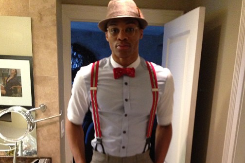 Westbrook's All-Star Game Swag