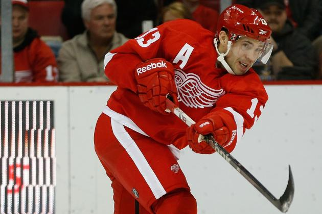 Pavel Datsyuk Returns to Lineup vs Wild