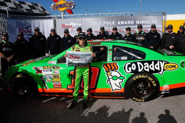 Danica Patrick Puts NASCAR on Notice That She's Serious with Daytona 500 Pole