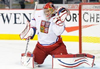 Mrazek in the World Junior Champships last year.