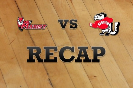 Marist vs. Rider: Recap, Stats, and Box Score
