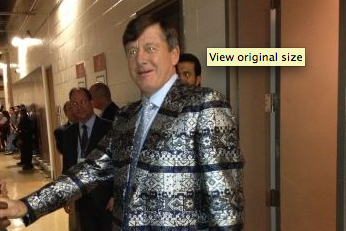 Check out Craig Sager's Ambitious NBA All-Star Game Fashion Statement