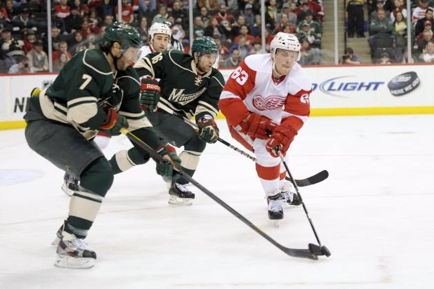 Detroit Red Wings vs. Minnesota Wild: Live Score, Updates and Analysis