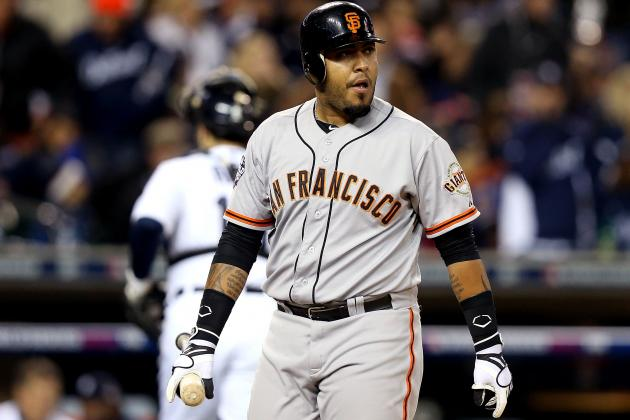 San Francisco Giants Catcher Hector Sanchez Reportedly Shows Up out of Shape
