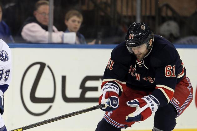 Nash Shakes off Pain and Helps Rangers Topple Capitals