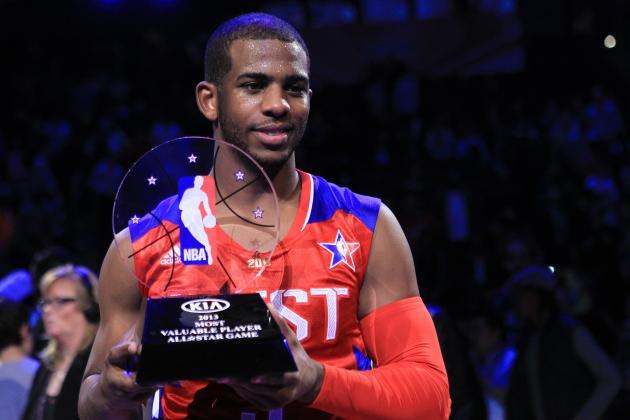 Chris Paul Wins 2013 NBA All-Star Game MVP Award
