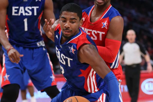 Kyrie Irving Scores 15 Points in All-Star Game Debut