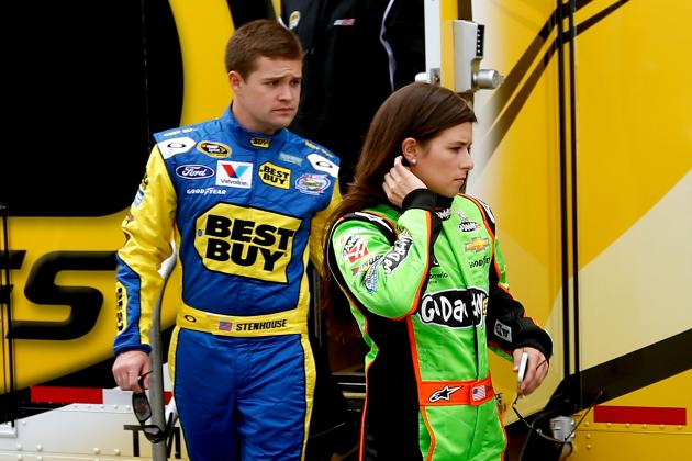 Ricky Stenhouse Jr.'s Talent Will Lead Him out of Danica Patrick's Shadow