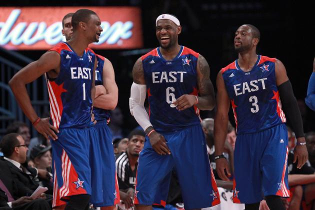 West Defeats Heat-Heavy East Squad in NBA All-Star Game