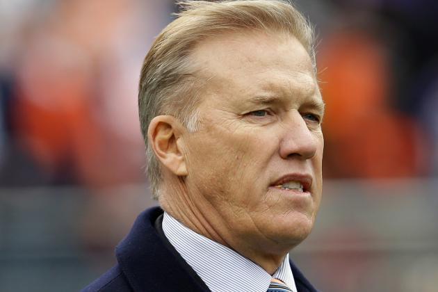 John Elway's Focus on Filling Holes for Denver Broncos