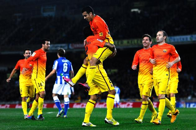 Why Pedro Rodriguez Is Key to Barcelona Victory Against AC Milan