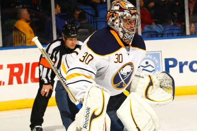 Ryan Miller Makes Great Save, Has NSFW Postgame Rant as Sabres Lose