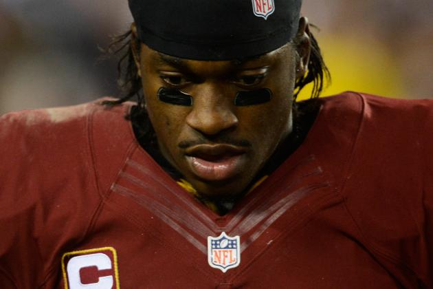 At Redskins Park, RG3 Can't Talk Football