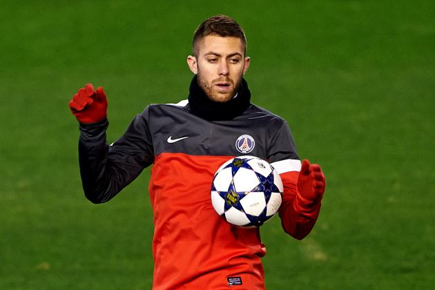 Paris St. Germain Star Jeremy Menez Not Happy with the Current Situation