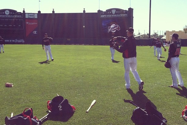 'Coach Chipper' Tossing Around with Freeman, Uggla