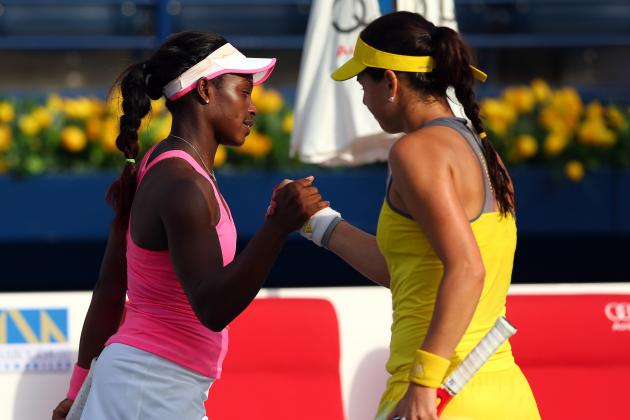 Sloane Stephens Loses in 1st Round in Dubai