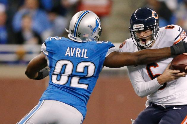 Detroit Lions' Tom Lewand Noncommittal About Interest in Re-Signing Cliff Avril