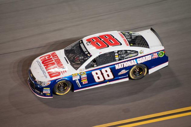 Dale Earnhardt Jr.'s Car Too Slow in Sprint Unlimited