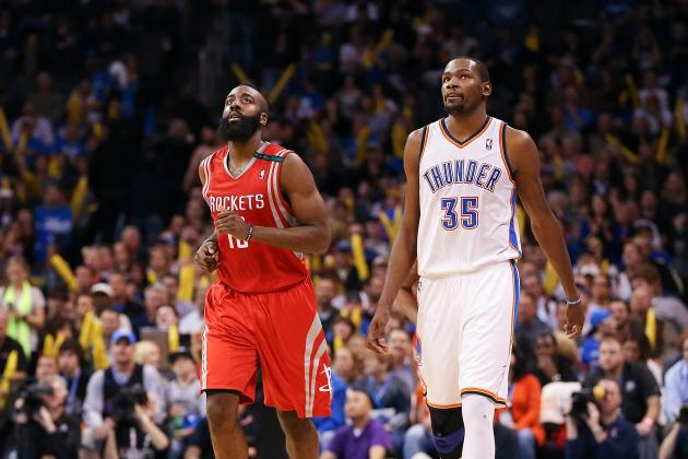 All-Stars Durant, Harden Pulling for 49ers
