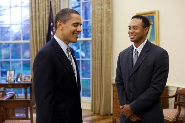 Tiger Woods' Round with President Obama Is Perfect Change of Pace for Golf Star