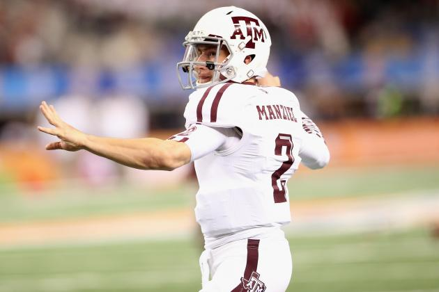 Aggies' QB Manziel Has Work Trip Planned