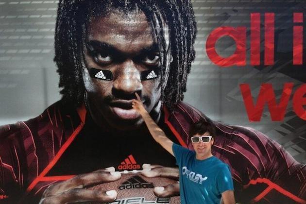 Bubba Watson Picks RG3's Nose