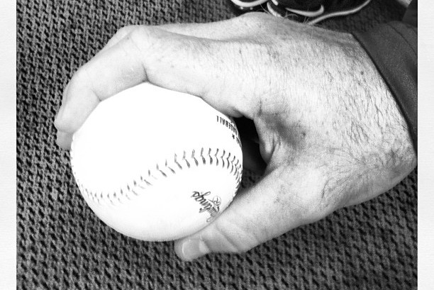 Instagram: Motte Shows off Grip for One-Seam Fastball