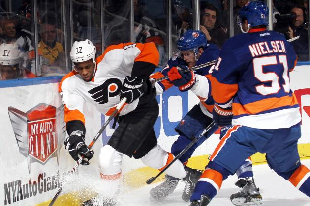 Flyers-Islanders GAMEDAY