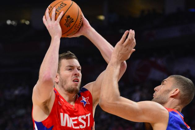 Golden State Warriors' David Lee Makes Presence Felt in NBA All-Star Game