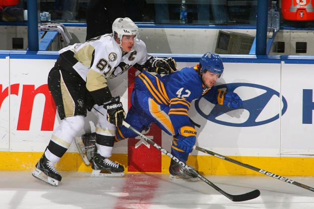 Crosby Thrives in Buffalo Again as Penguins Win, 4-3