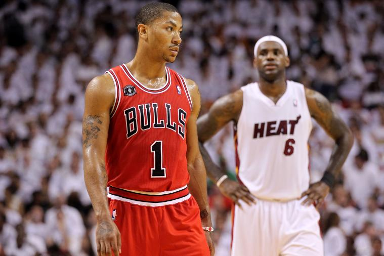 Derrick Rose Receives Support from LeBron James About Potentially Missing Season