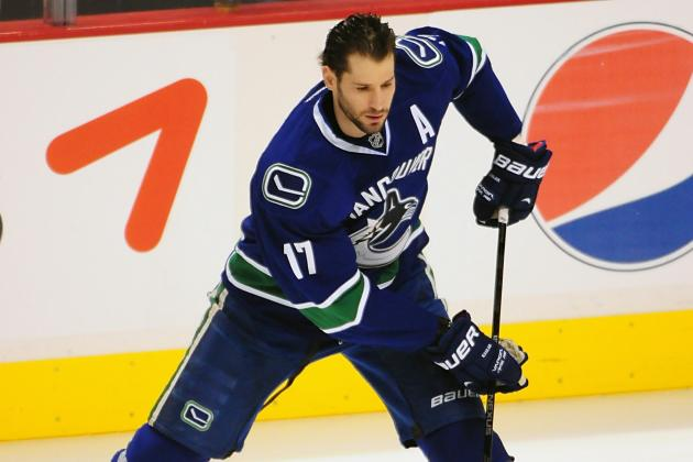 Ryan Kesler Goal a Bright Spot in Vancouver Canucks Loss to St. Louis