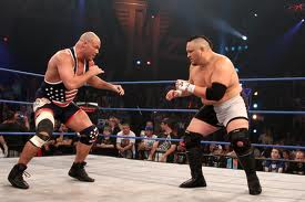 TNA Flashback Genesis 2006: Kurt Angle vs. Samoa Joe