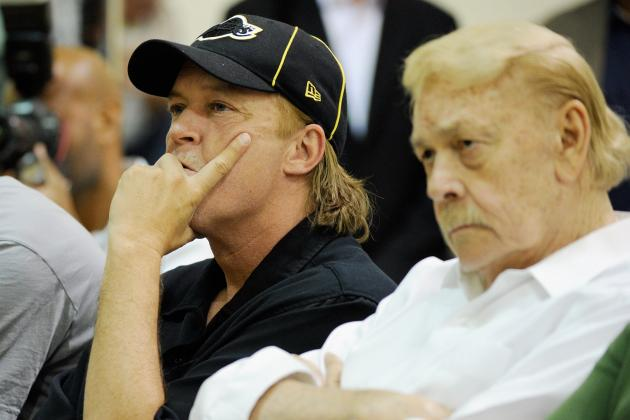 Jerry Buss' Death Signals End of an Era for Lakers