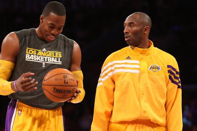 Kobe Bryant Says 'it Doesn't Matter' If Dwight Howard Is Traded