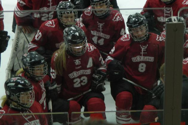 Carley Porcellato Extols the Qualities of Leadership for the Ottawa Gee Gees