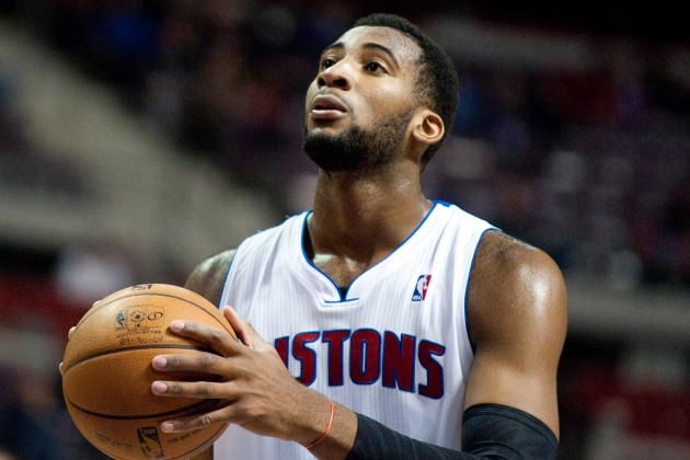 Pistons' Andre Drummond Has Eyes on Slam Dunk Title