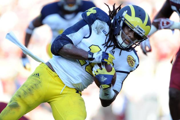 Mike Mayock Wants to See Denard Robison 'Catch Everything' at NFL Combine