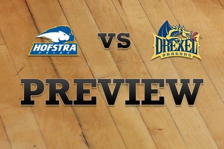 Hofstra vs. Drexel: Full Game Preview