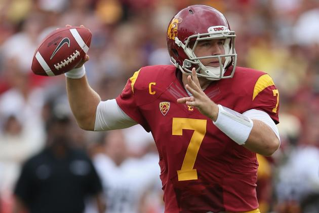 Matt Barkley's Lingering Shoulder Injury Should Be Major Red Flag for NFL Teams