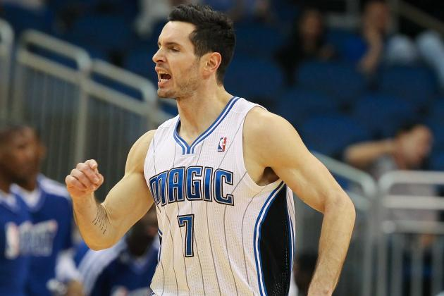 J.J. Redick Says the Magic Are 'open' to the Idea of Re-Signing Him This Summer
