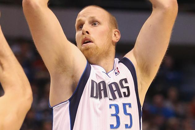 Chris Kaman Participates in Non-Contact Drills