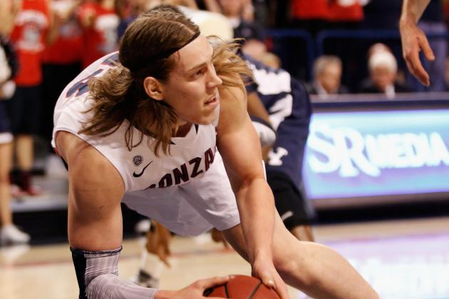 Kelly Olynyk Named WCC Player of the Week for Second Time