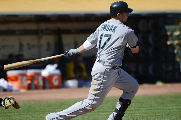 Justin Smoak Expected to Open the Season as the Mariners' Primary First Baseman