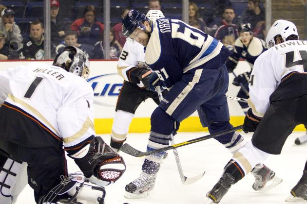 ESPN Gamecast: Blue Jackets vs. Ducks