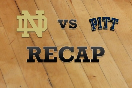 Notre Dame vs. Pittsburgh: Recap, Stats, and Box Score